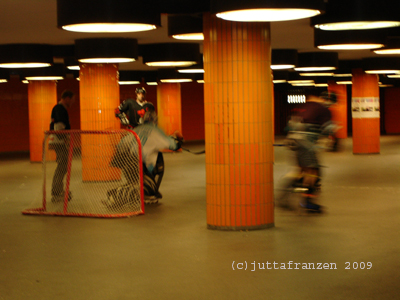 Hockeyspiel Messedamm 2009
