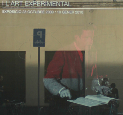 Poster John Cage .Bercelona 2009
