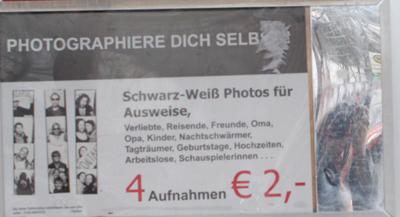 Photoautomat Kaisers Fhain 2010