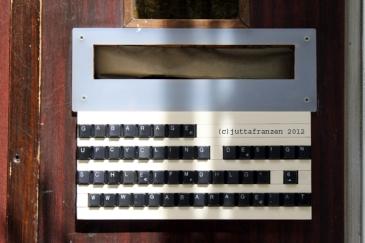 Schreiben | typewriter (c)juttafranzen Wien 2012